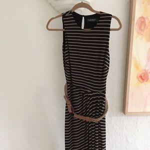 Lauren by Ralph Lauren Nautical Striped Tank Dress